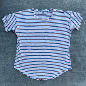 Madewell large striped t-shirt